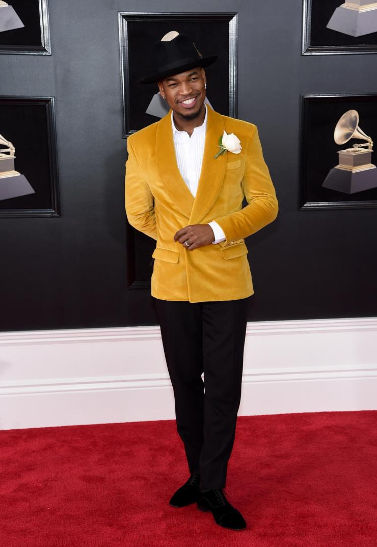 ne yo grammys - See All the Red-Carpet Looks From The 2018 Grammy Awards