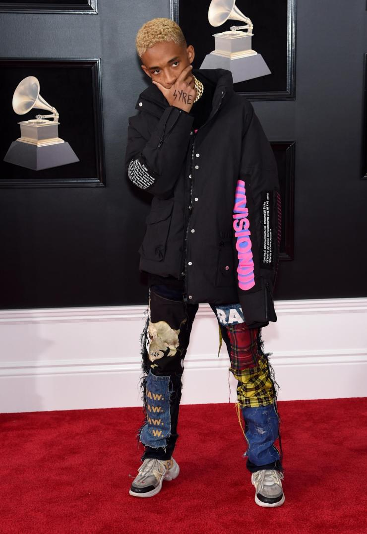 jaden-smith See All the Red-Carpet Looks From The 2018 Grammy Awards
