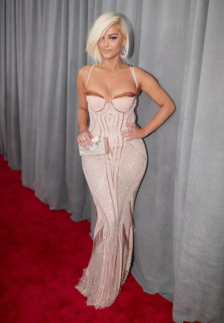 bebe grammys - See All the Red-Carpet Looks From The 2018 Grammy Awards