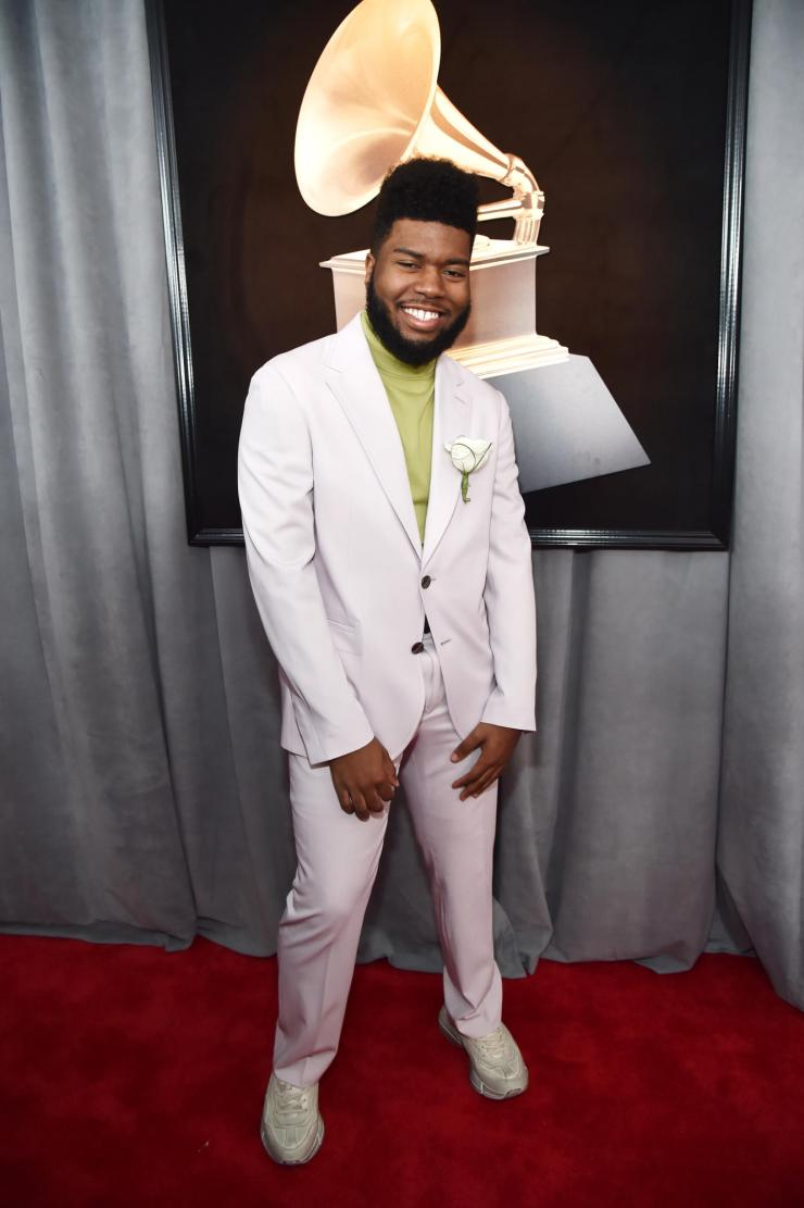 khalid grammys - See All the Red-Carpet Looks From The 2018 Grammy Awards