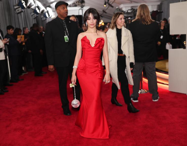 camila cabello grammys - See All the Red-Carpet Looks From The 2018 Grammy Awards