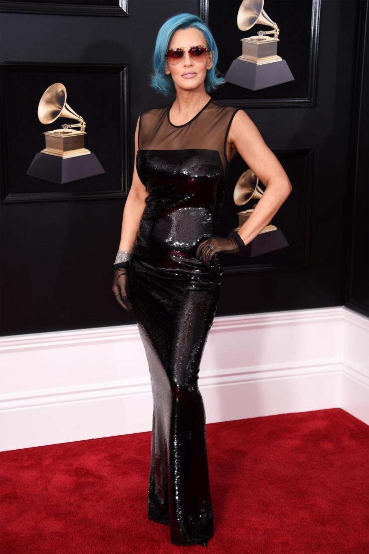 jenny mccarty grammys - See All the Red-Carpet Looks From The 2018 Grammy Awards