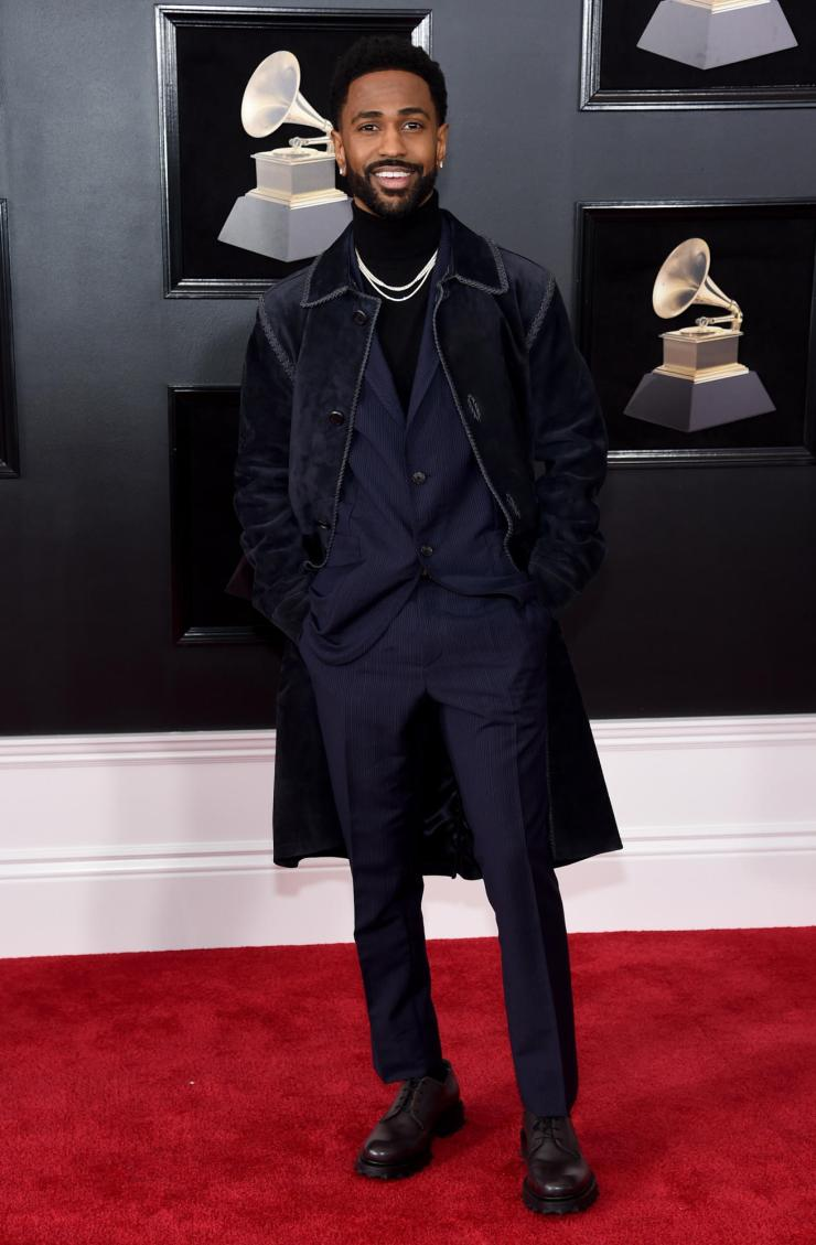 big sean grammys - See All the Red-Carpet Looks From The 2018 Grammy Awards