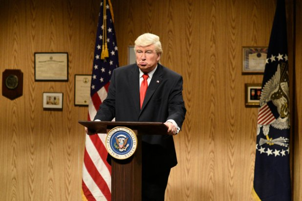 """From the April 8, 2017 episode of """"SNL."""" Photo: Will Heath/NBC"""