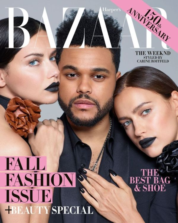 The Weeknd Covers the September Issue of 'Harper's Bazaar ...