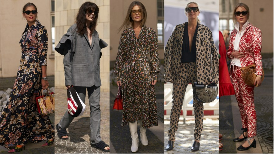 Head to Toe Prints Were Everywhere at Copenhagen Fashion Week     Prints on prints on prints     and a Cult Gaia  It  bag  Photos
