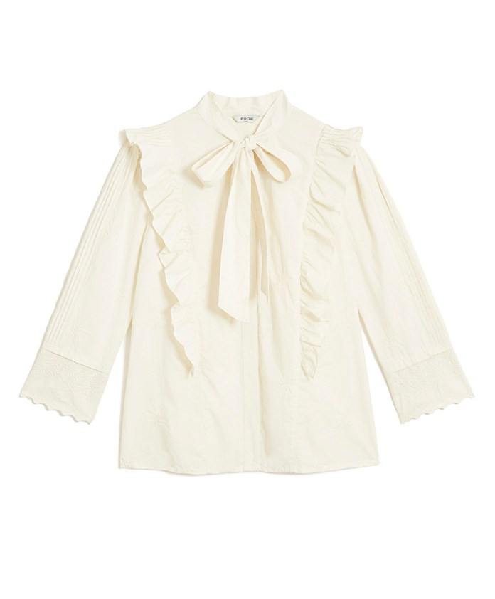 Emily blouse, $265, available at St. Roche.