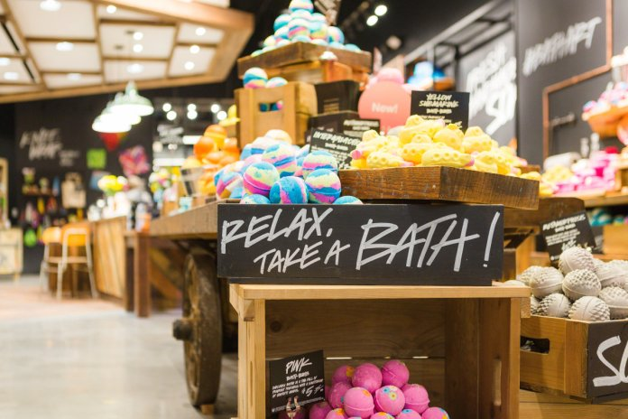 The newly updated Lush Union Square store. Photo: Courtesy of Lush