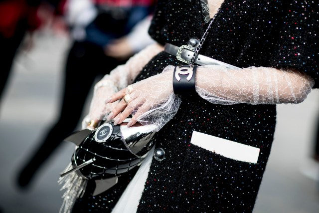 Street style from Paris Fashion Week. Photo: Imaxtree