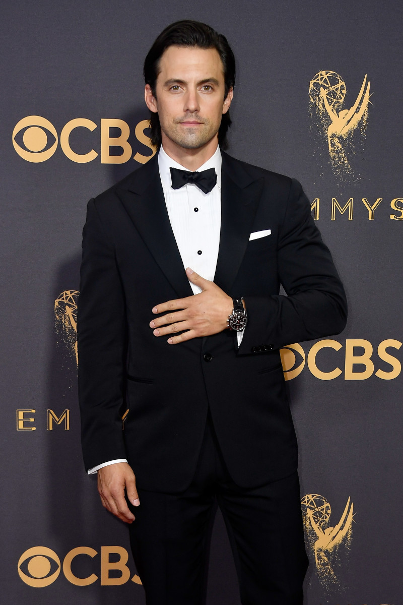 2 Minutes of Milo Ventimiglia Discussing The Importance of His     Milo Ventimiglia at the 2017 Emmy Awards  Photo  Frazier Harrison Getty  Images