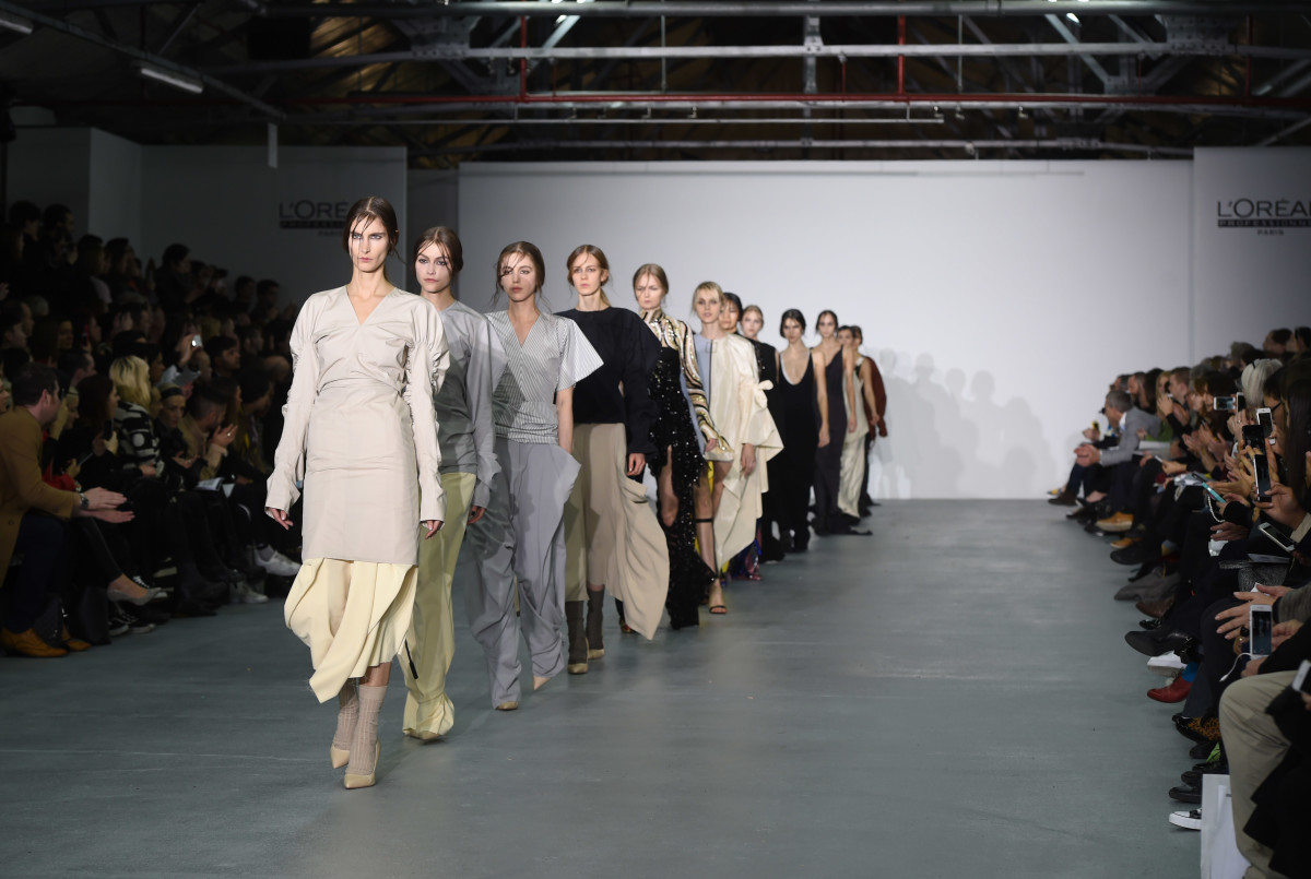 2017 Ranking of the Best  Top Fashion Schools in the World   Fashionista Central Saint Martins MA runway show February 2017  Photo  Stuart C  Wilson