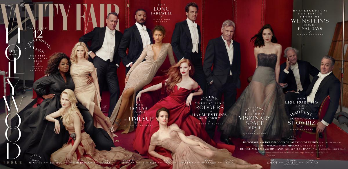 vanity fair s 2018 hollywood issue photo courtesy of vanity