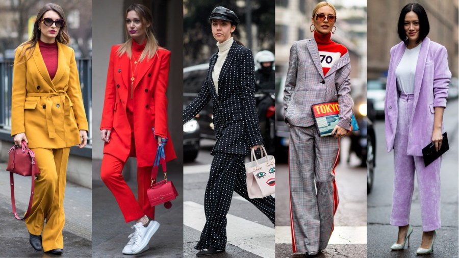 The Street Style Crowd Wore All Sorts of Suits on Day 2 of Milan     Suits  Photos  Chiara Marina Grioni Fashionista  2   Imaxtree  3