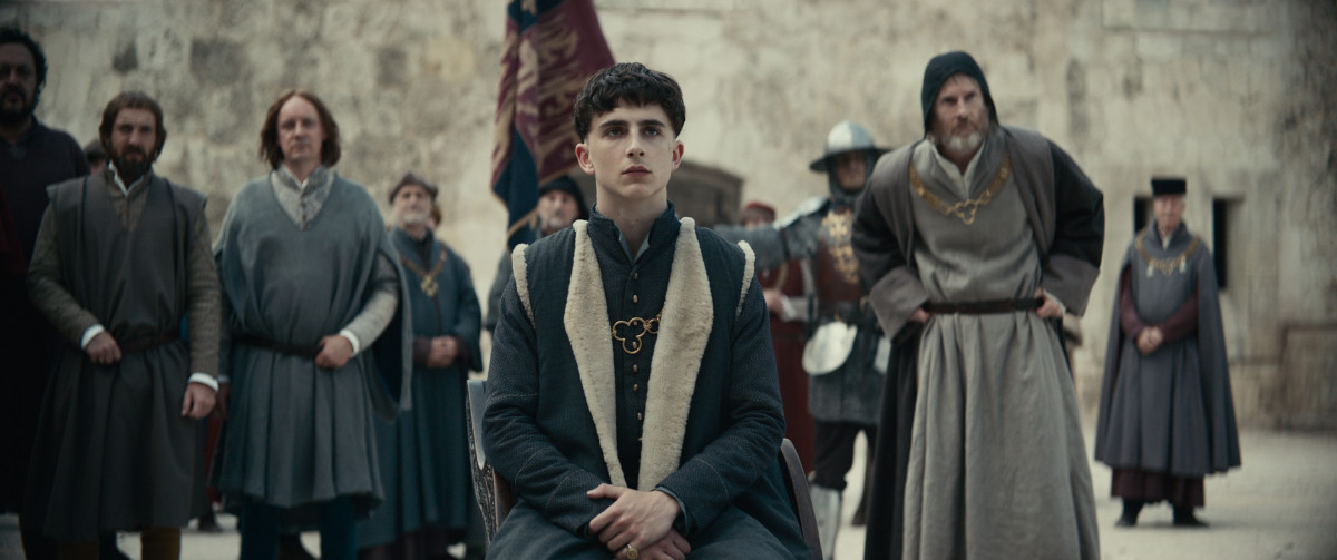 King Henry V. Photo: Courtesy of Netflix
