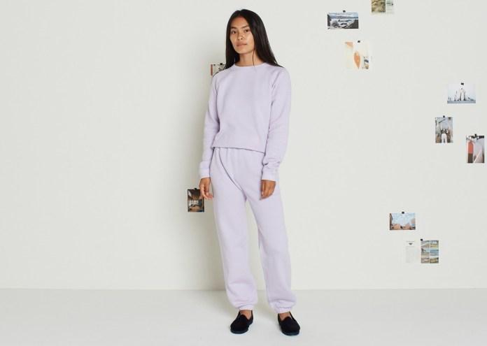 entireworld sweatsuit lilac