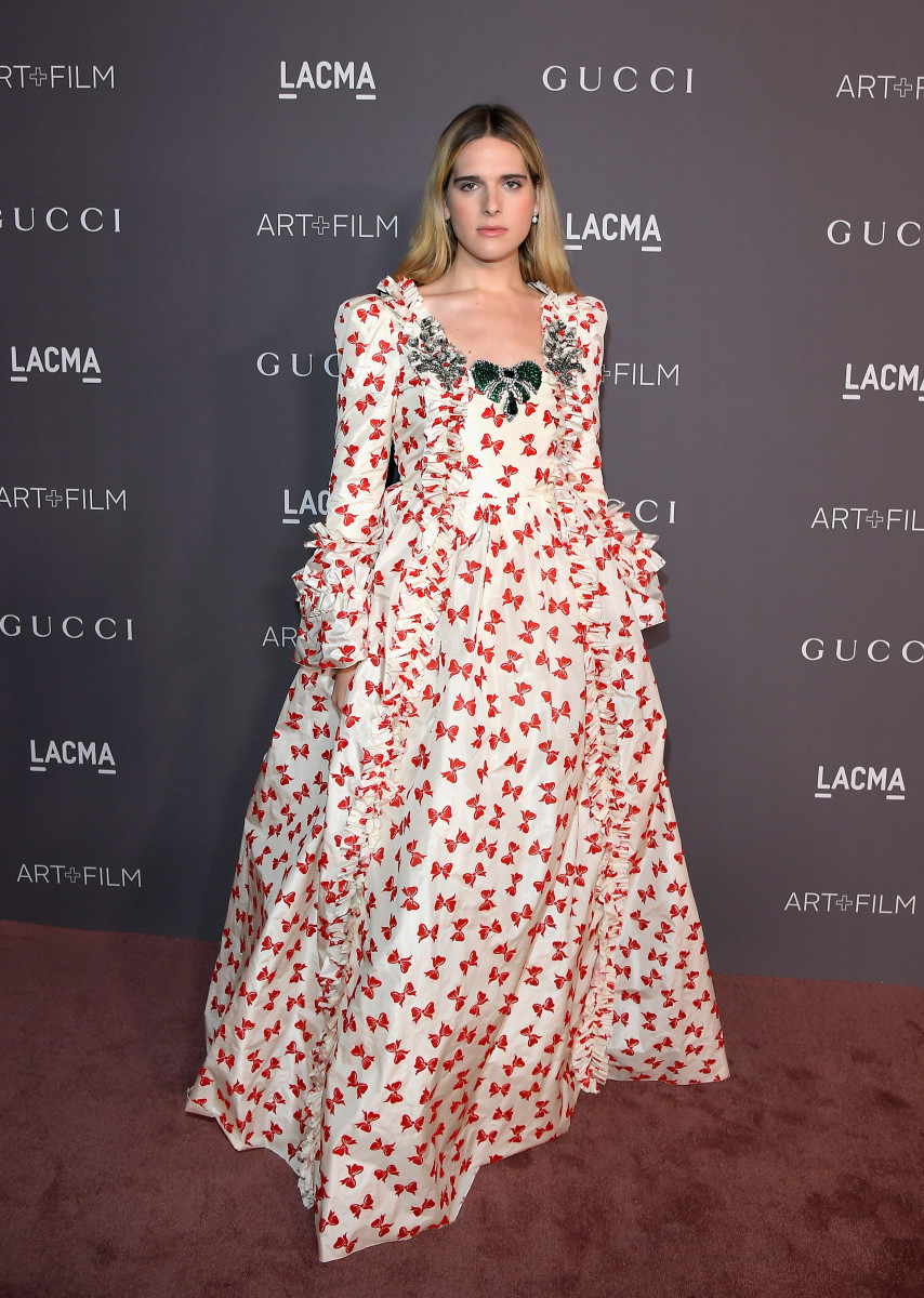 Nef at the  LACMA Art + Film Gala in 2017 in Los Angeles, California. Photo: Charley Gallay/Getty Images