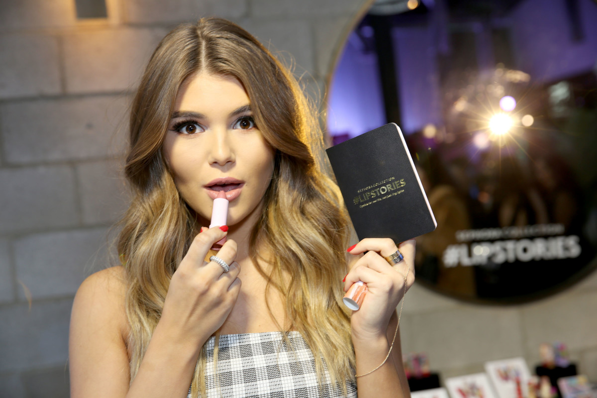 Olivia Jade at a 2017 Sephora product launch event in Los Angeles. Photo: Rachel Murray/Getty Images for Sephora Collection