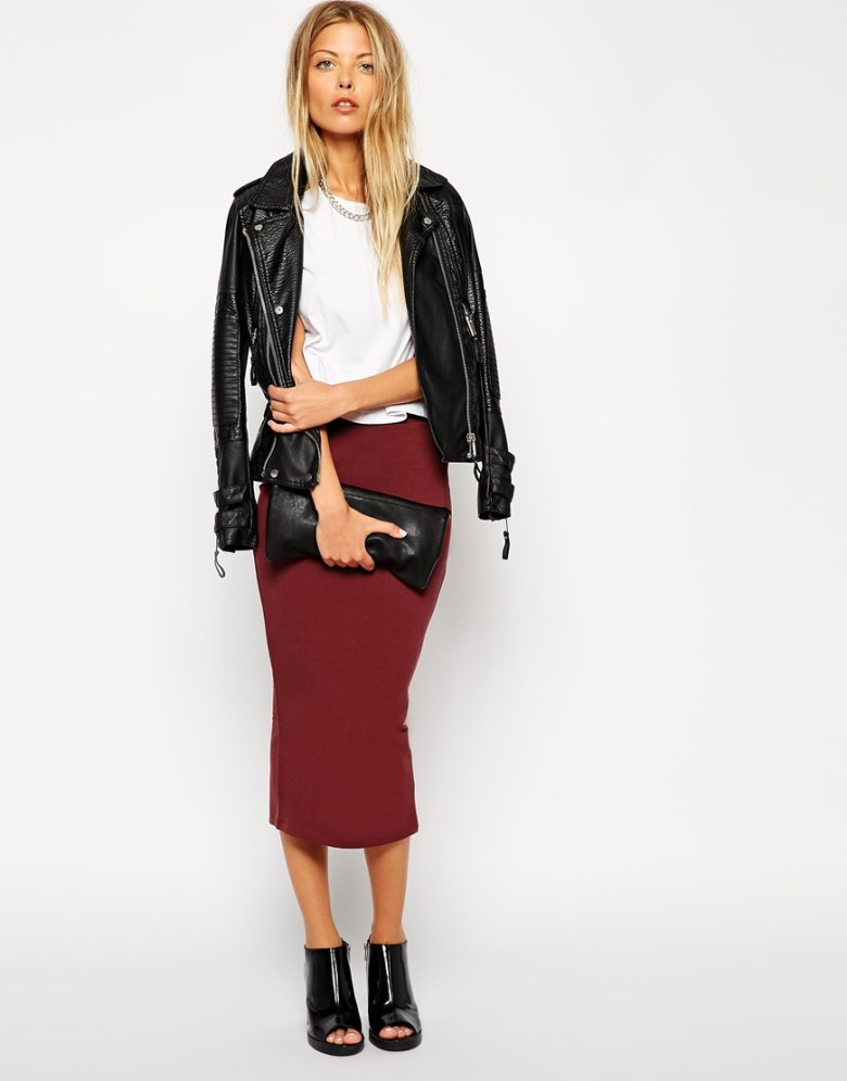 Asos Midi pencil skirt