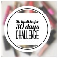 30 lipsticks for 30 days challenge