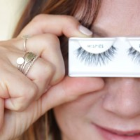 false eyelash tutorial, ardell wispies