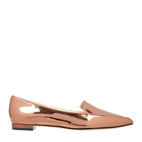 Nine West Abay Bronze metal flat
