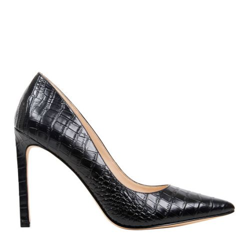 Nine West Tatiana Black Croc