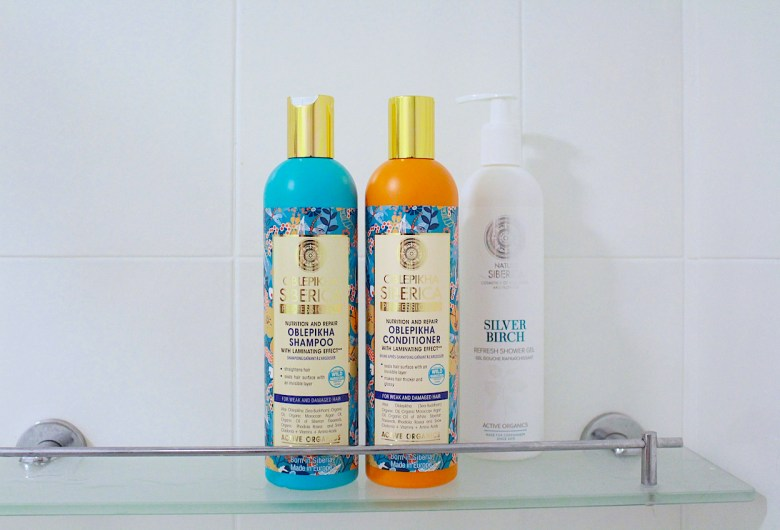 Natura Siberica Oblepikha Repair and Nutrition Shampoo and Conditioner
