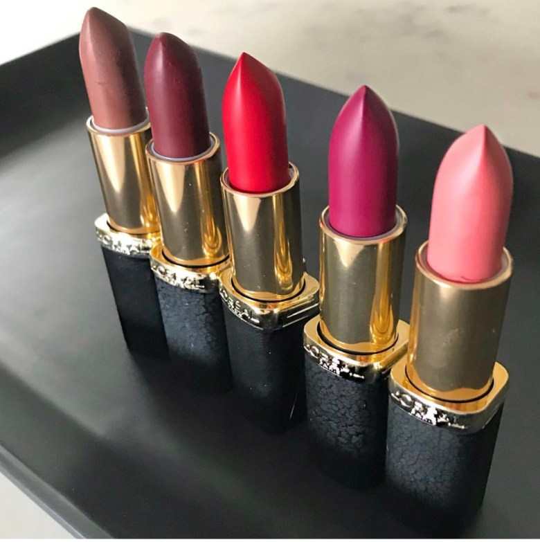 d120fb38d59 L'Oréal Paris Color Riche Matte Addiction Lipsticks! | fashionista ...