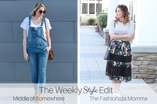 The Fashionista Momma and Middle of Somewhere host a style linkup for fashion bloggers.