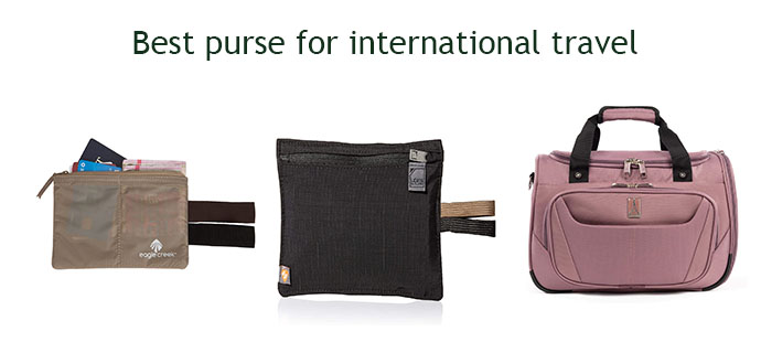 Best purse for international travel