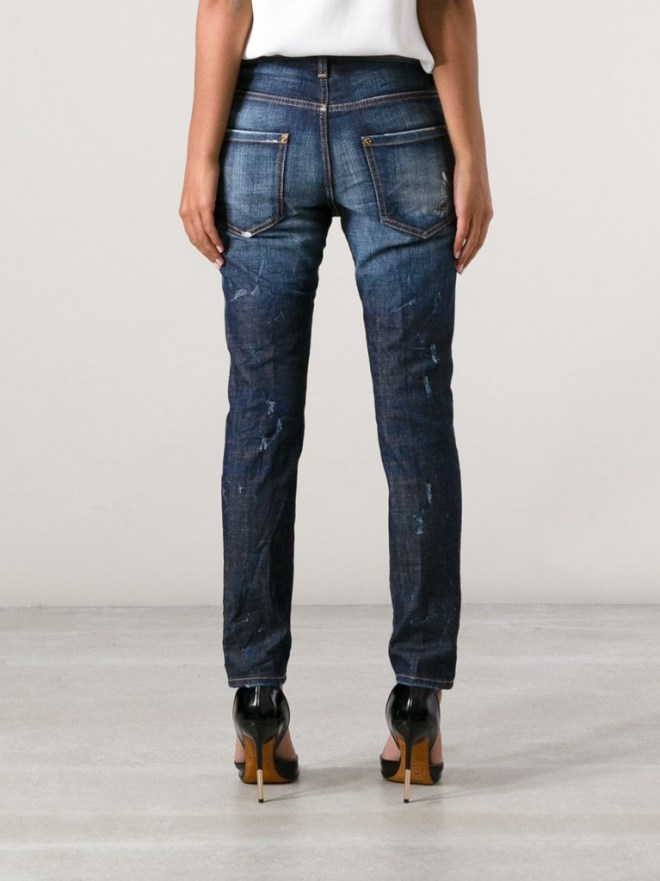 DSquared2 Embellished Jeans