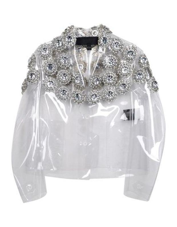 Currently Coveting: Burberry Prorsum Transparent Embellished Blazer
