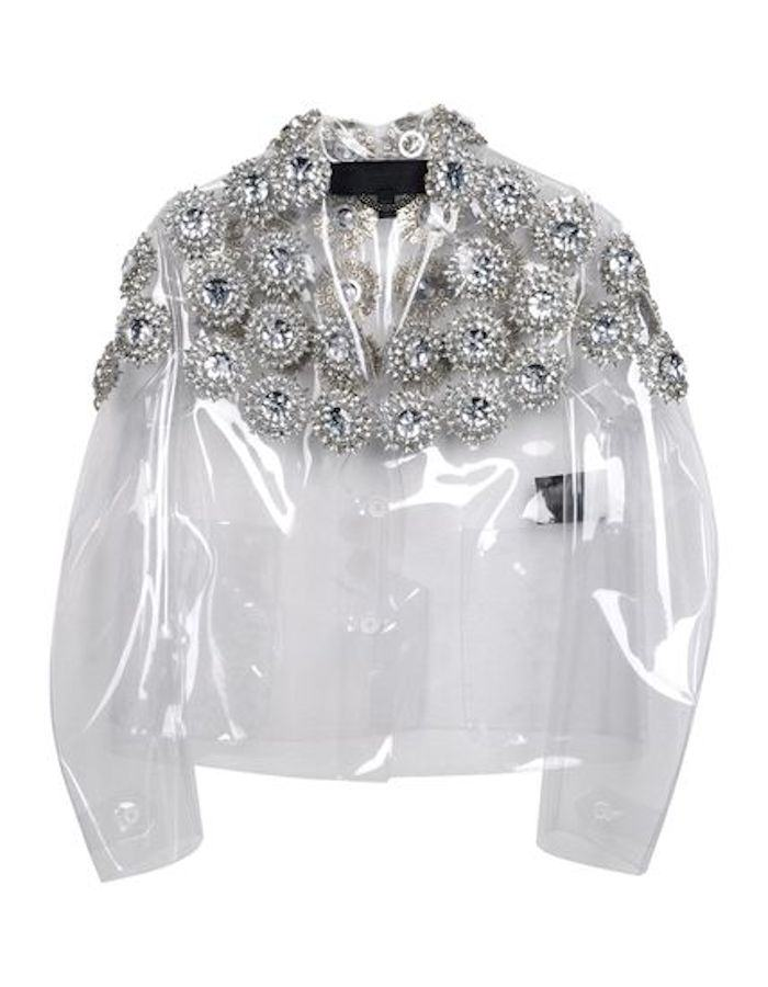 Burberry Prorsum Clear Jacket