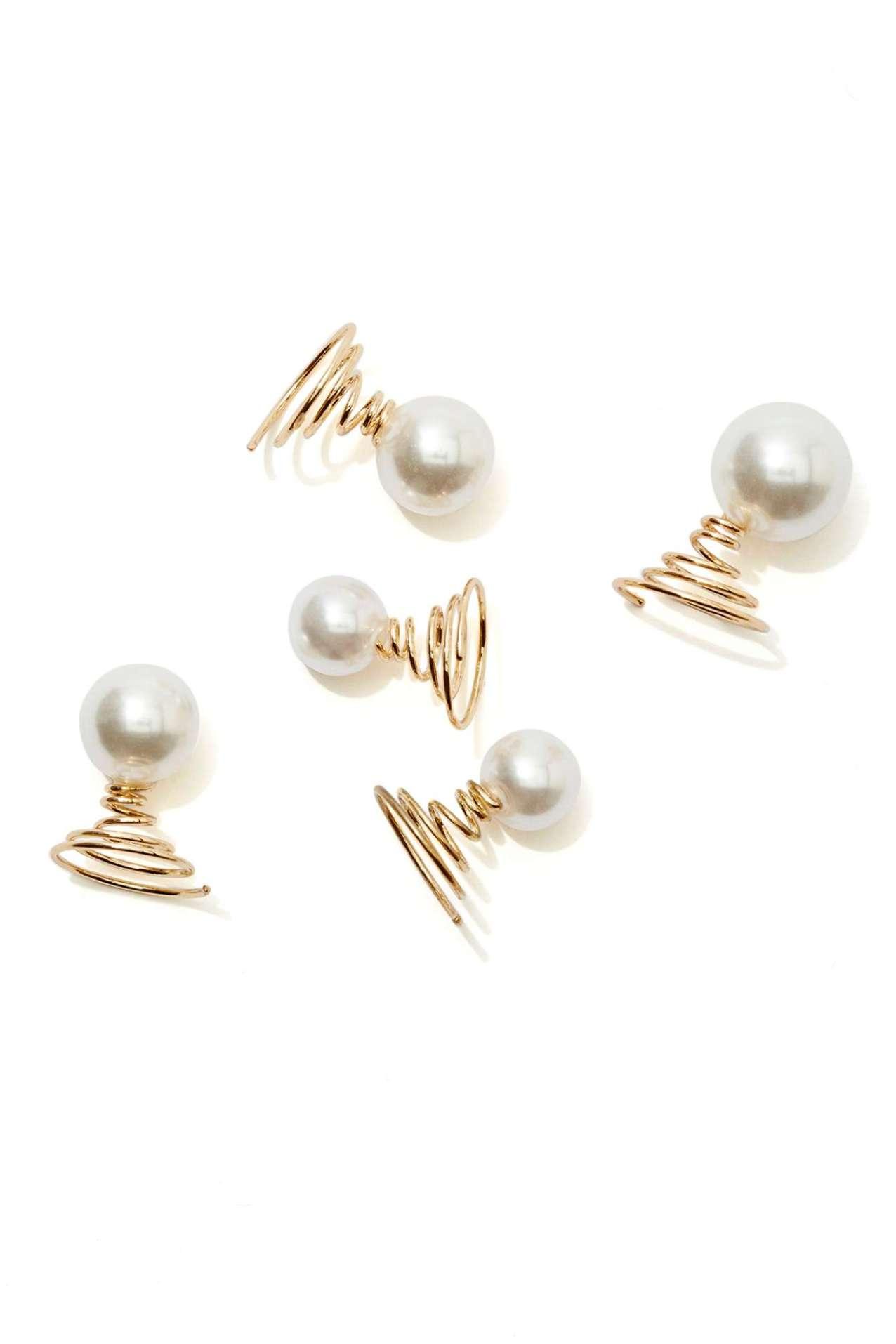 Atta Pearl Hair Charm Set