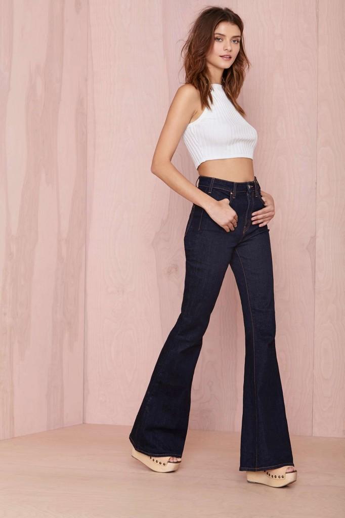 Bell Bottom Denim Jeans