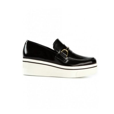 Spotted On The Street: Stella McCartney Binx Platform Penny Loafers