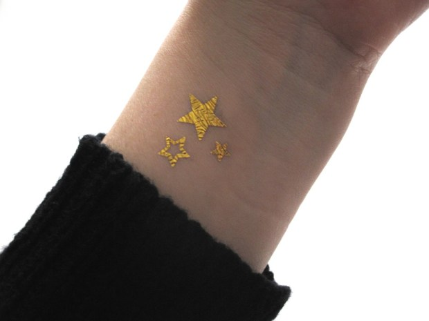 Currently Coveting: TTTATTOO Temporary Star Tattoos