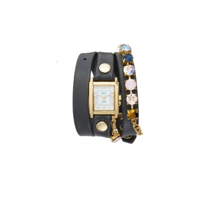 Currently Coveting: La Mer Collections Leather Wrap Watch
