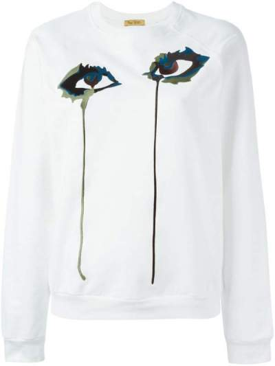 Pick Of The Day: Peter Jensen Embroidered Eye Sweatshirt