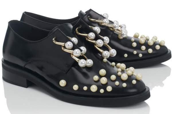Pearl Brogues
