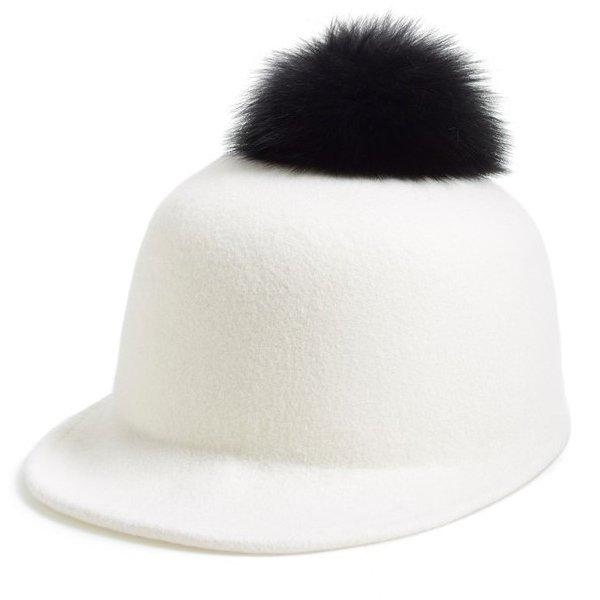 Fur Pom Hat