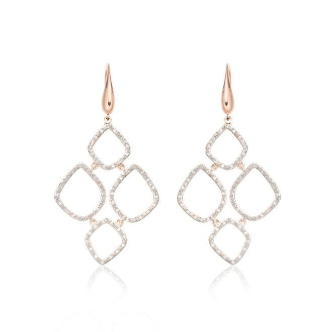 HRH Duchess of Cambridge Riva Cluster Drop Earrings