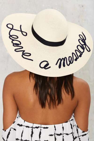 Save Vs. Splurge: Wide Brim Statement Hats