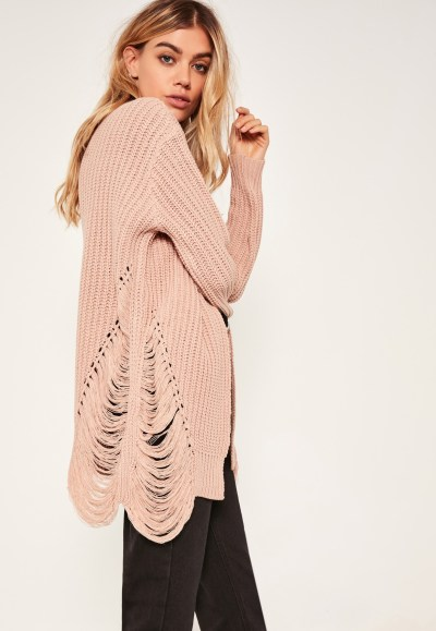 Trend To Try: Distressed Sweaters