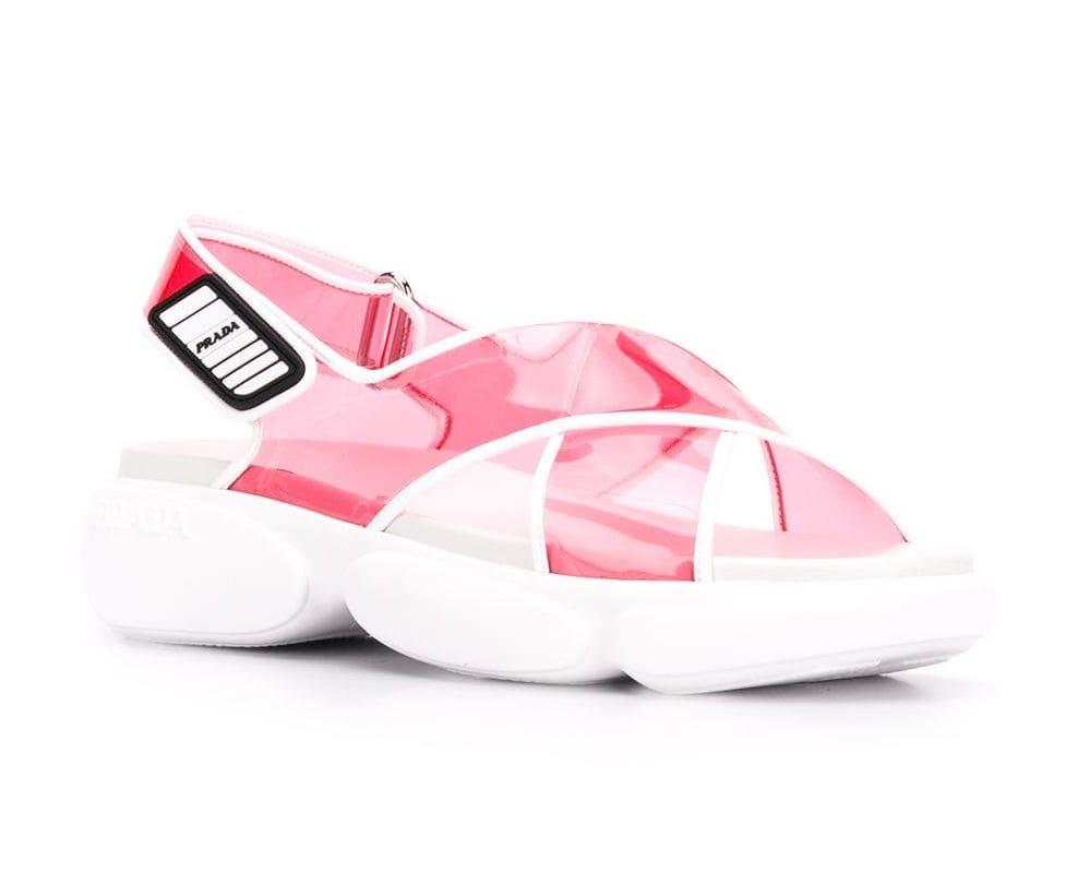Prada Cloudburst Sporty Sandal