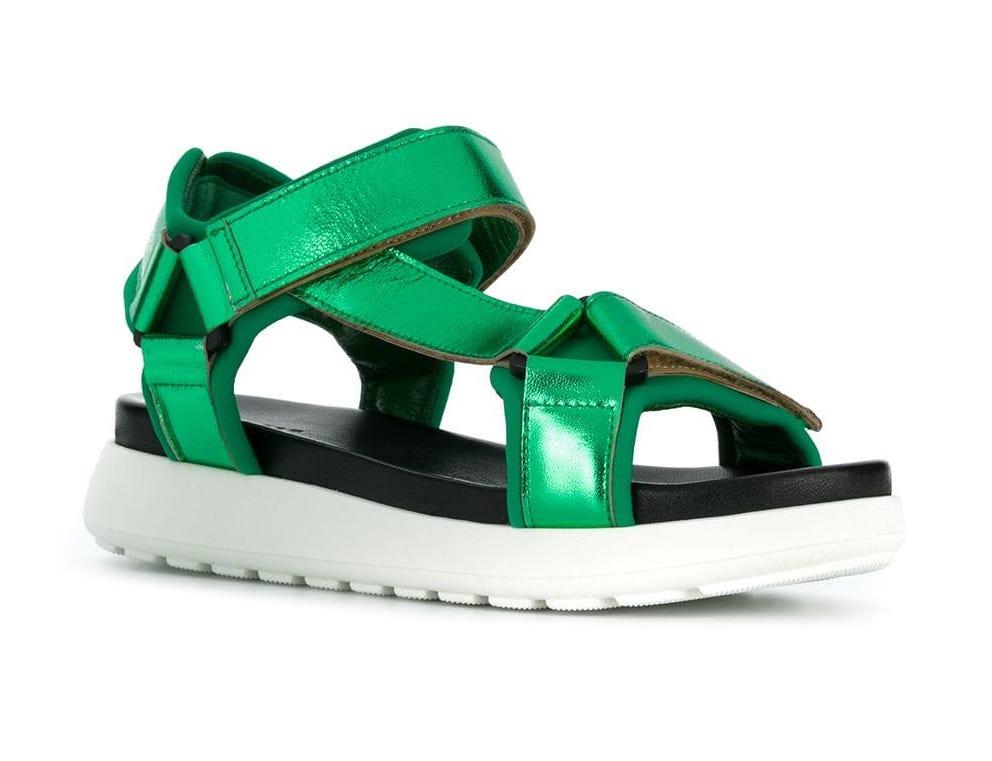 P.A.R.O.S.H. Laminated Sporty Platform Sandal