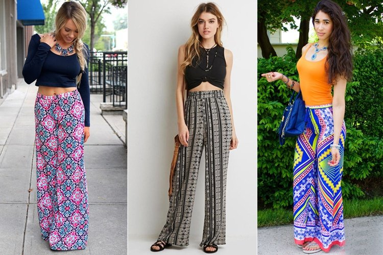 Enticing And Alluring Spring-Friendly Printed Palazzo Pants