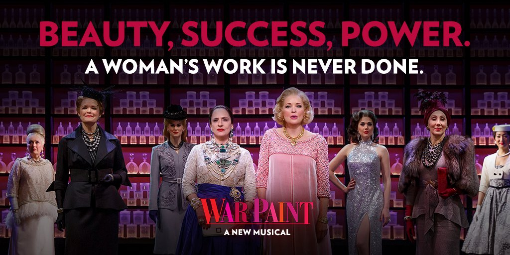 "War Paint - Patti LuPone and Christine Ebersole - ""A Woman's Work is Never Done"""