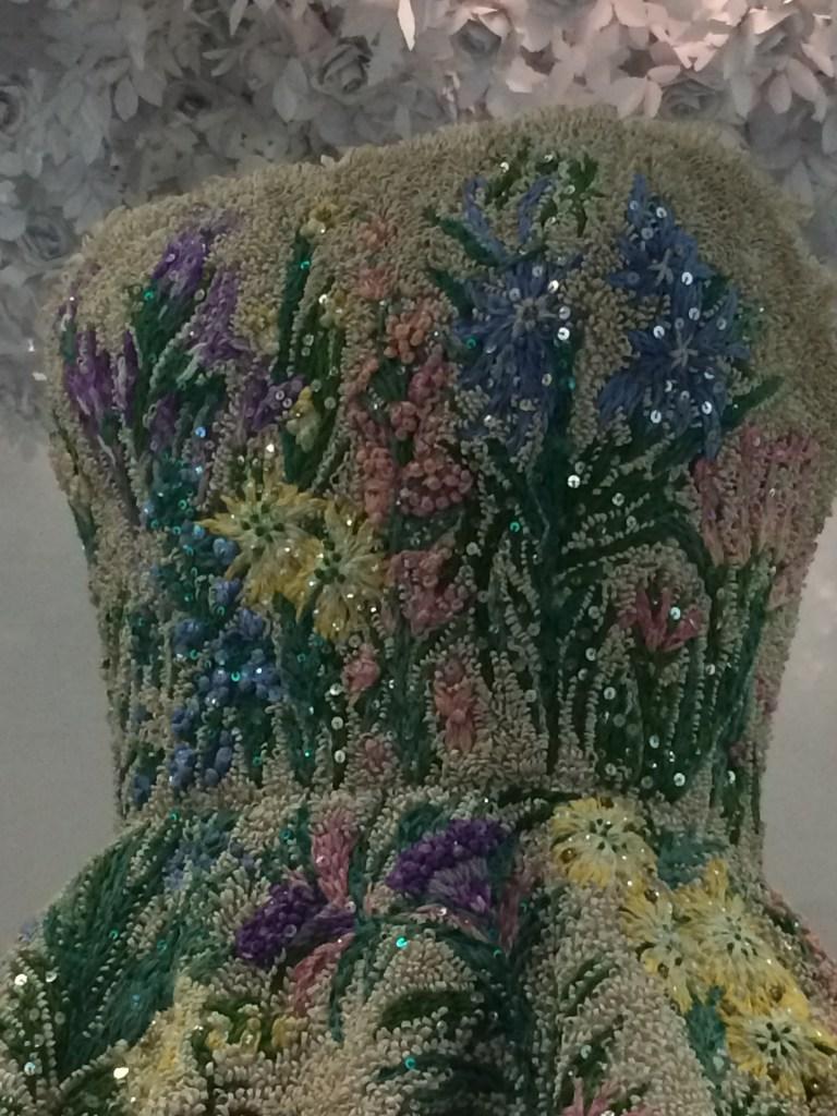 Dior beadwork
