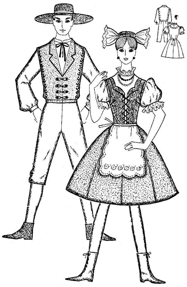Рис. 34. Чешский костюм
